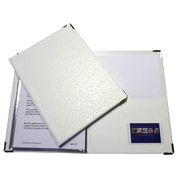 Ceremony Delivery Folders – White – A5
