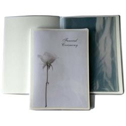 Ceremony Script Folder – Plastic