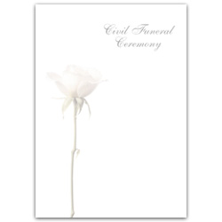 Funeral Ceremony Rose Paper – Civil Funeral