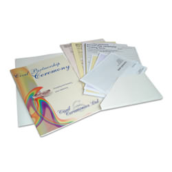 Civil Partnership Pack & Certificate