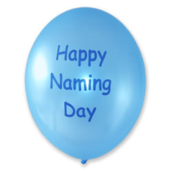 Naming Balloons – Blue