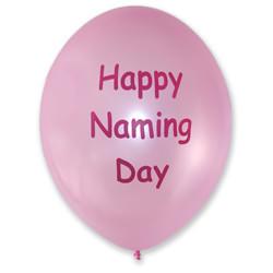 Naming Balloons – Pink