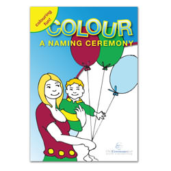 Naming Ceremony Colouring Book
