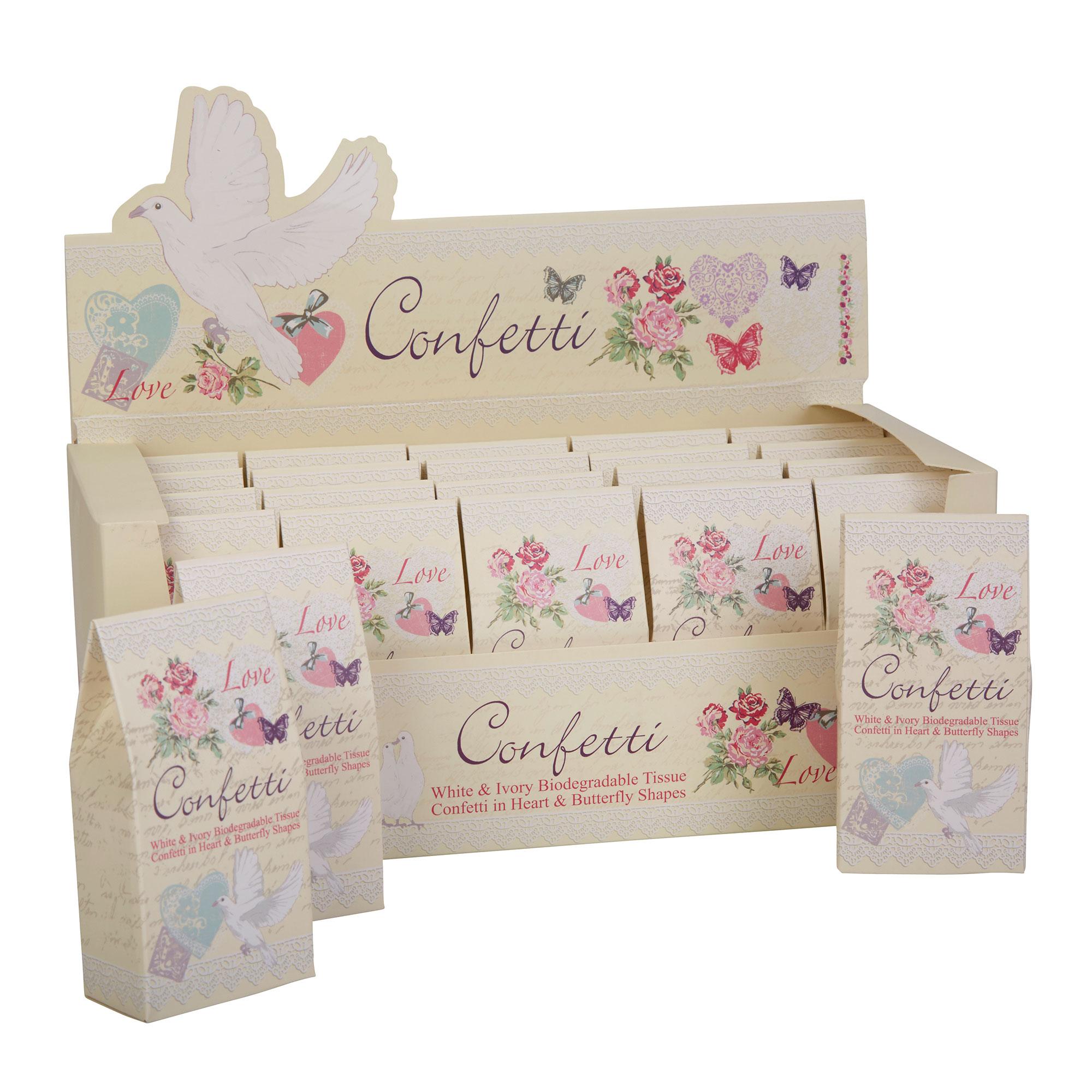 Biodegradable Rice Paper Confetti