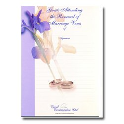 Renewal Of Marriage Vows – Flower Design – Guests Attending
