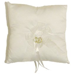 Ring Cushion - White