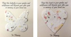 Wildflower Memorial Tokens