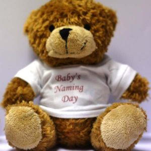 Small Teddy Bear – Naming T-Shirt