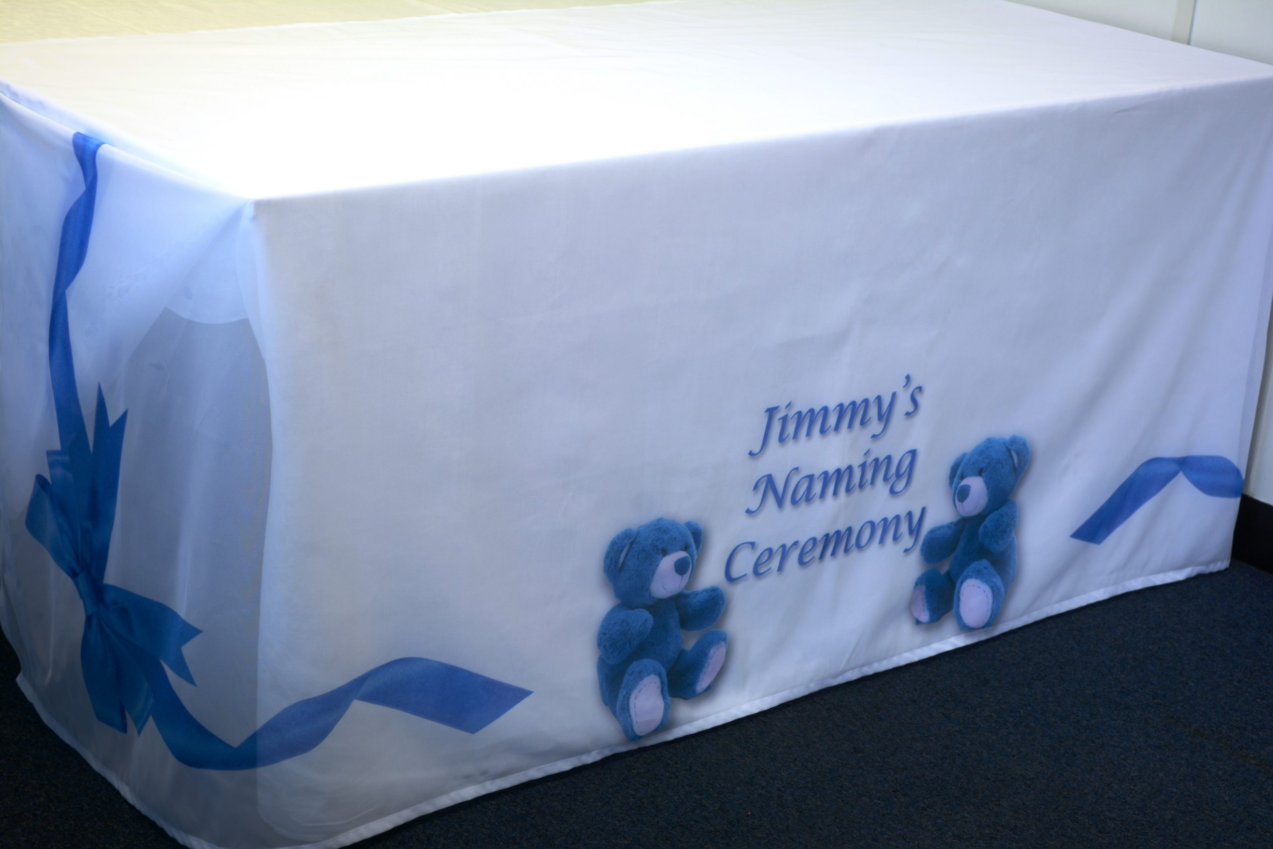 Personalised Naming Ceremony Tablecloths